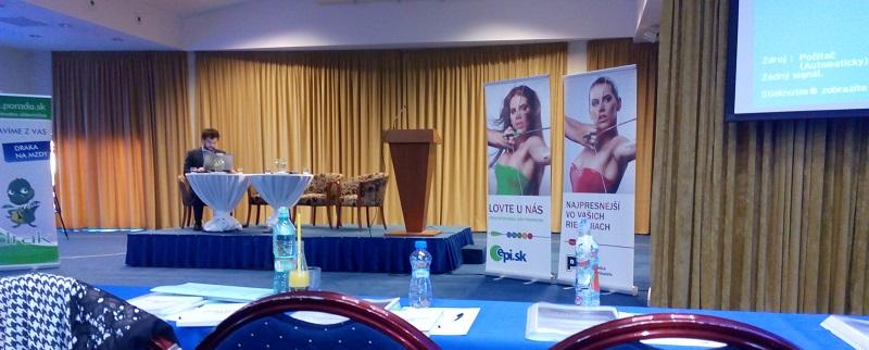 Odborná konferencia pre účtovníkov, ekonómov a podnikateľov.