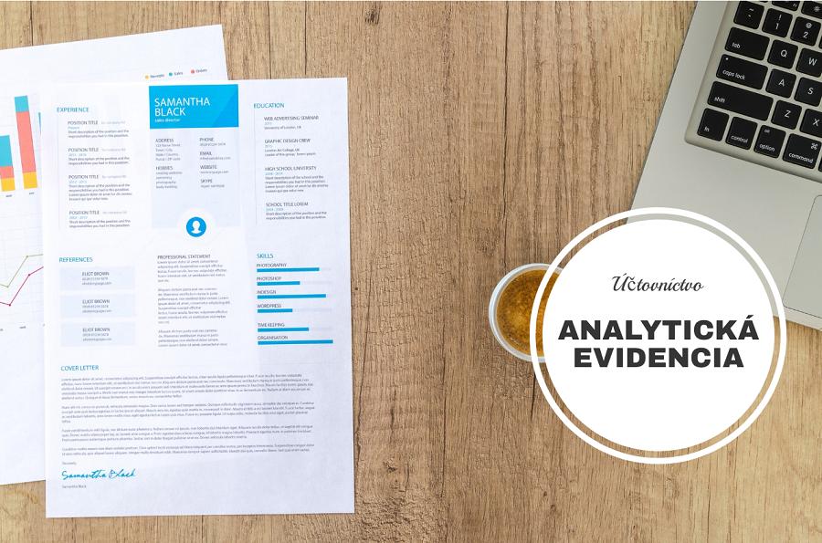 Poradíme ako viesť analytiku v podvojnom účtovníctve