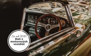 Ako na podanie daňového priznania k dani z motorových vozidiel za rok 2020?